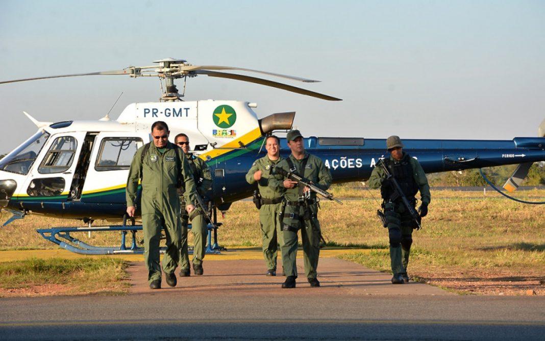 Em tese a implantação de uma base do Centro Integrado de Operações Aéreas (CIOPAer) seria no município de Porto Esperidião (321 Km de Cuiabá)