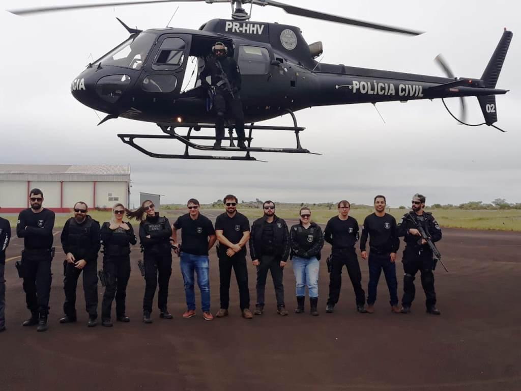 Treinamento envolveu 12 policiais de quatro municípios da região (Fotos: Polícia Civil)