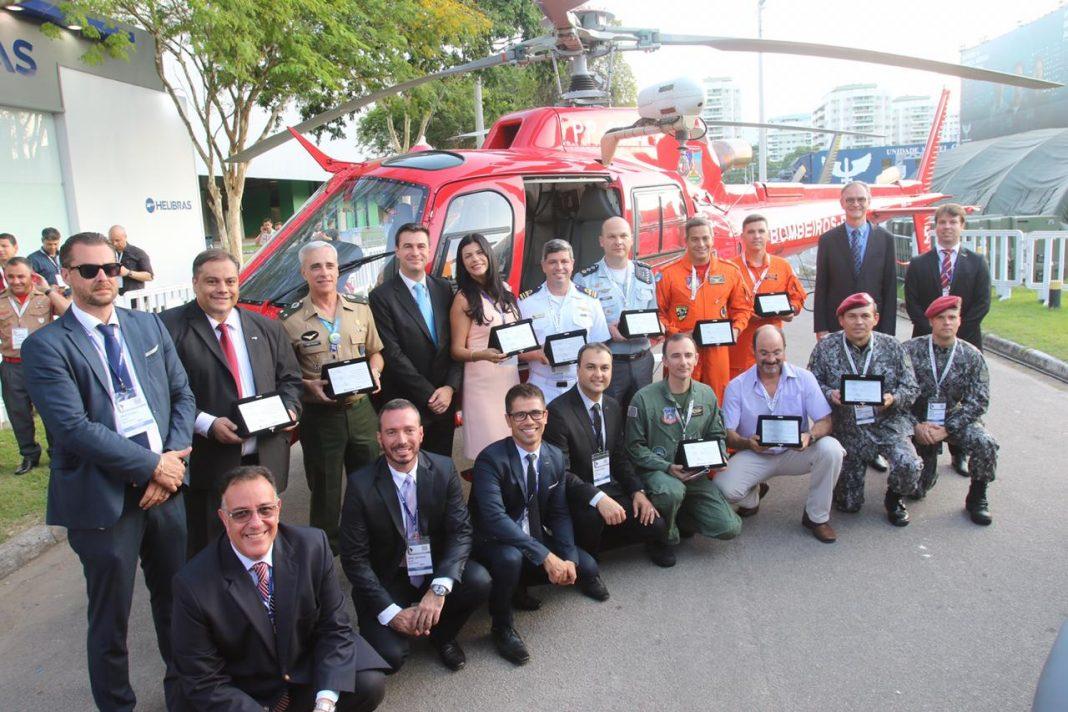 Helibras homenageia as OASP que atuaram na Operação Brumadinho