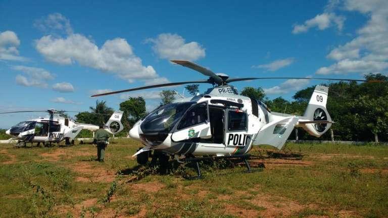 Ciopaer-e-Cotar-apoiam-forças-de-segurança-do-Piauí-em-ação-contra-grupo-criminoso-em-posse-de-vasto-material-bélico-7-768x432