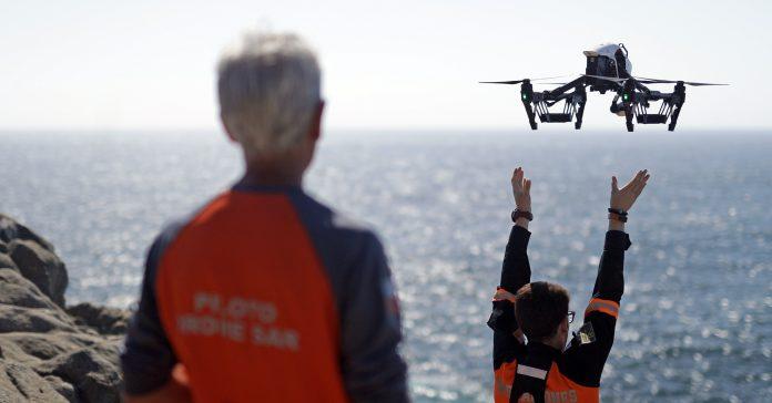 DroneSAR Chile DJI Phantonm