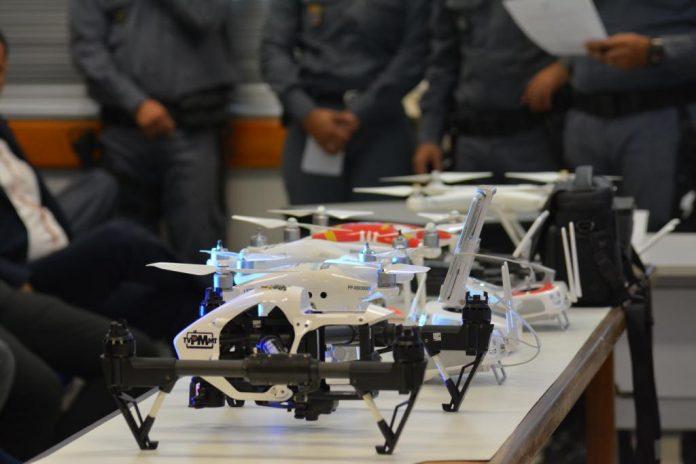Curso ensina sobre segurança de voo, manutenção do aparelho e sua legalidade, conforme Anac - Foto por: Lorrana Carvalho/Sefaz-MT