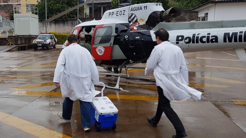 Força-tarefa garantiu que o coração chegasse a tempo em hospital