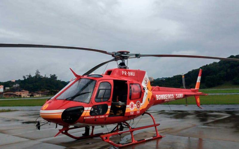 Aeronave estava em manutenção no Rio de Janeiro. Foto: divulgação