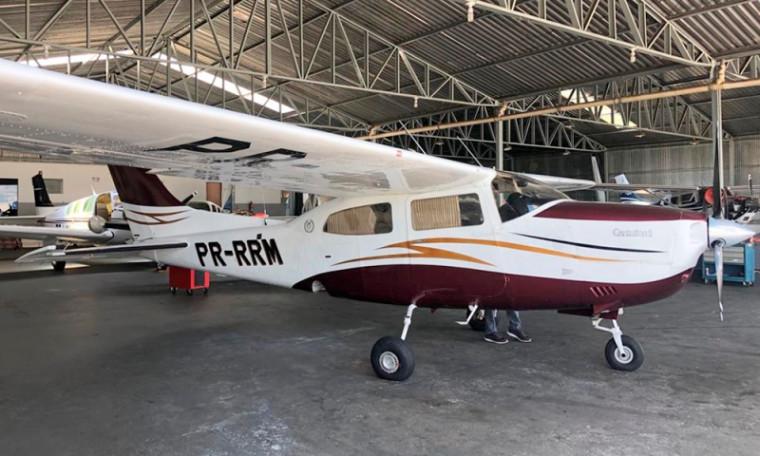 Aeronave que foi doada ao Estado / Foto: DivulgaçãoPM
