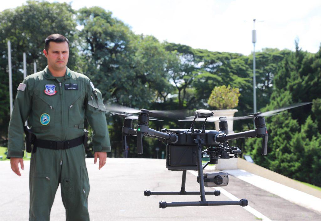 São Paulo terá novo programa Olho de Águia 4.0 com uso de drones. Foto: Ascom SP.