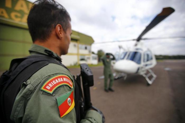 Foram 13 missões de transporte de órgãos realizadas pela equipe da Capital. foto;Félix Zucco / Agencia RBS