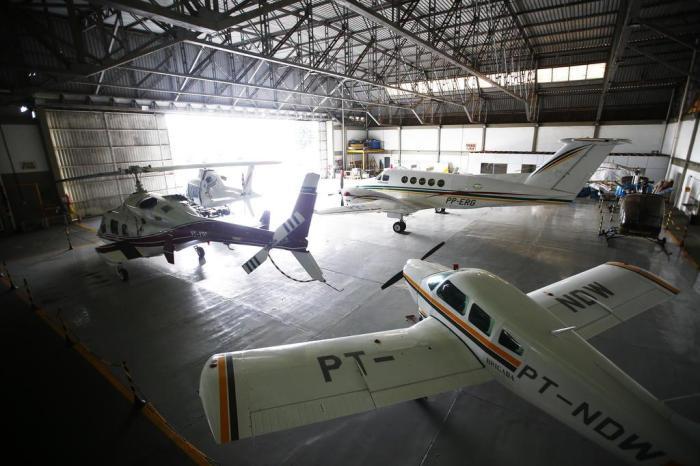 Pista do batalhão fica junto ao aeroporto Salgado Filho. foto:Félix Zucco / Agencia RBS