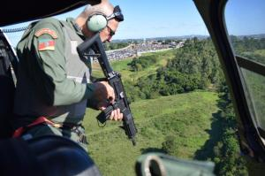 Buscas após chacina em Alvorada Brigada Militar / Divulgação