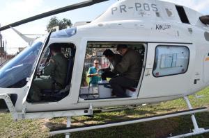 Coração foi buscado em Sapucaia do Sul Brigada Militar / Divulgação