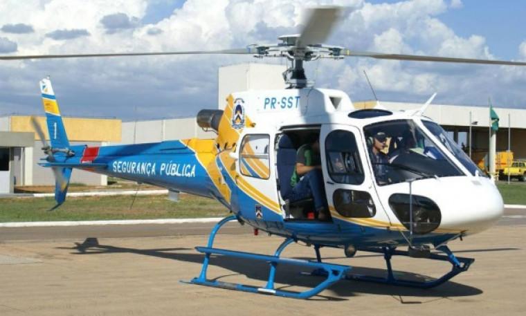 Helicóptero da SSP / Foto: Divulgação