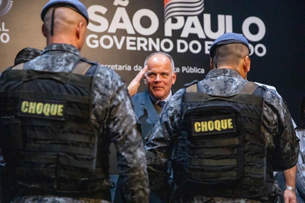 O governador do Estado de São Paulo, Rodrigo Gargia, participa do evento Palícia Nota 10. Data: 10/07/2019. Local: São Paulo.Foto: Governo do Estado de São Paulo