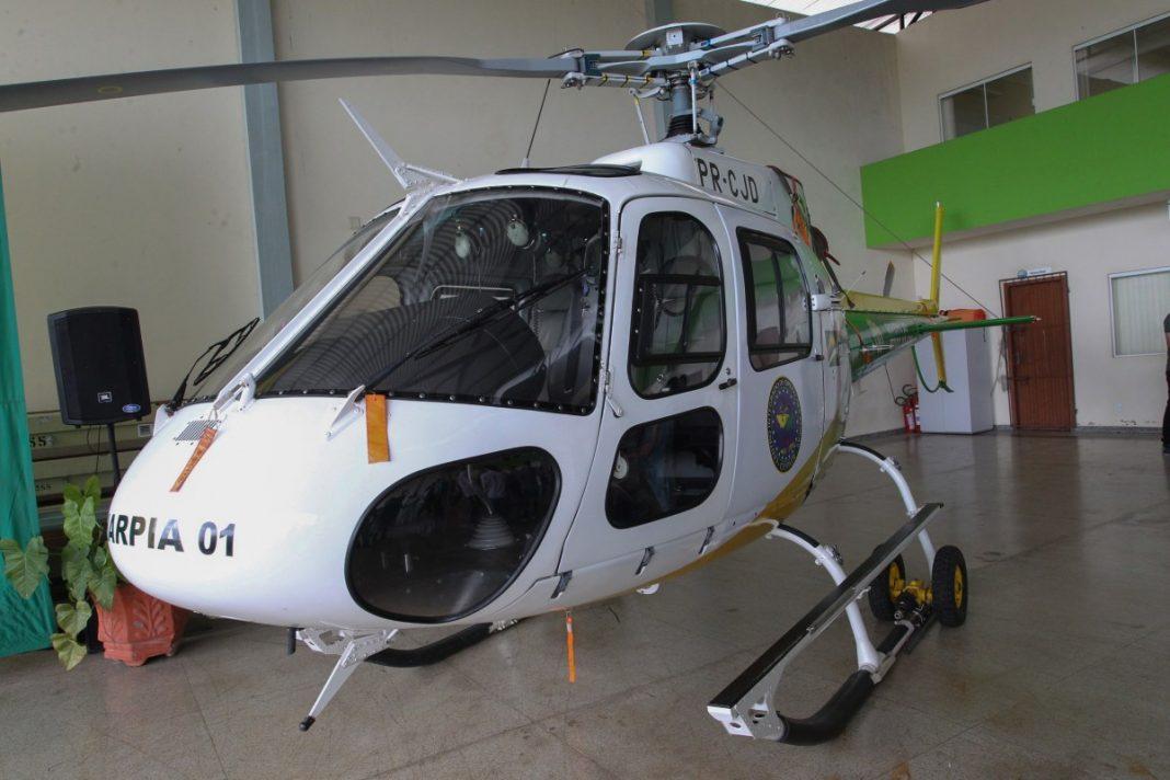 A aquisição do moderno helicóptero foi liderada pelo governador Gladson Cameli Foto: Cedida