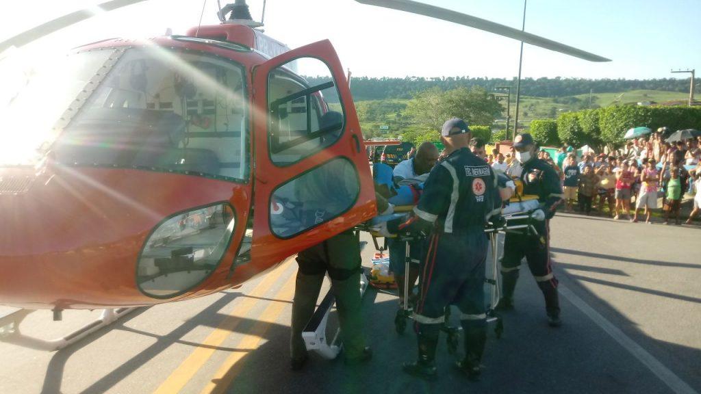 Fotos: Serviço Aeromédico