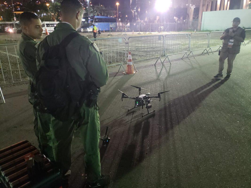 NuARP/GAM realiza primeira transmissão ao vivo envolvendo aeronaves não tripuladas em uma operação da Polícia Militar