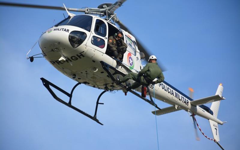 Helicóptero Águia 07 (Foto: Divulgação)