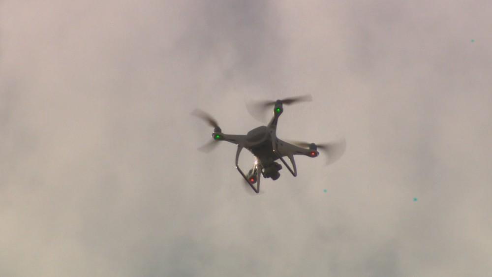 Drones serão usados por policiais civis em operações no ES — Foto: Reprodução/TV Gazeta