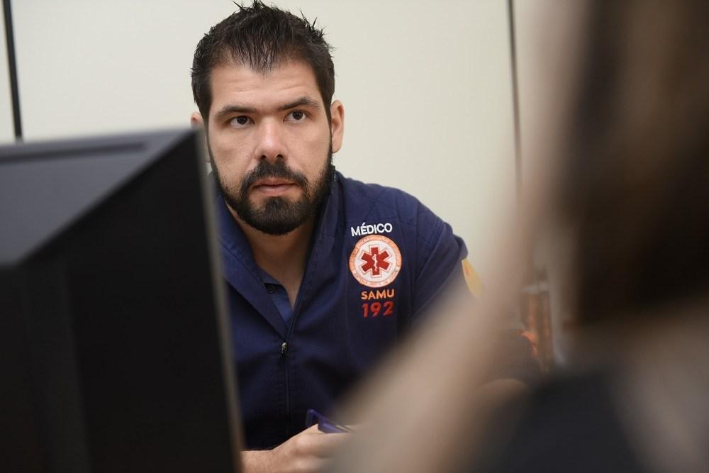 Médico Pedro Pascoal, coordenador do Samu Foto: Júnior Aguiar/Secom