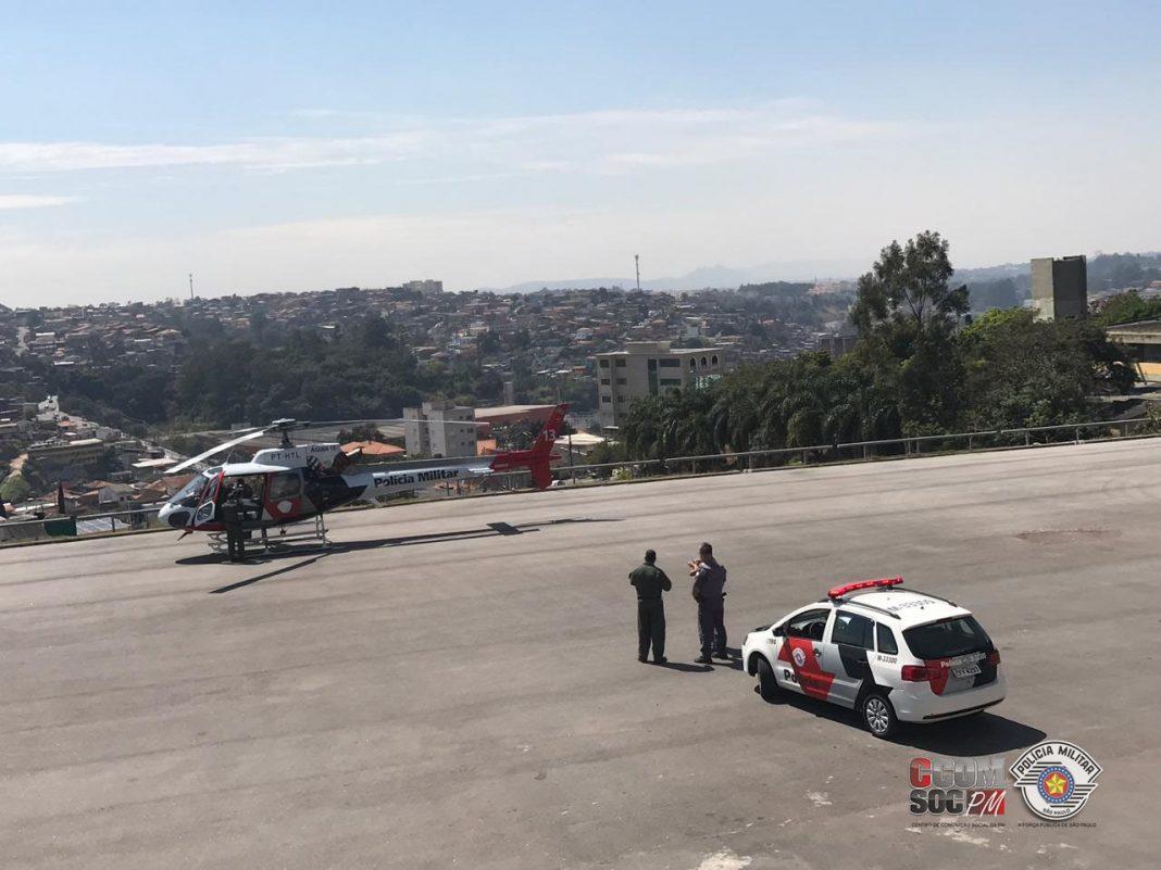 Helicóptero cotia