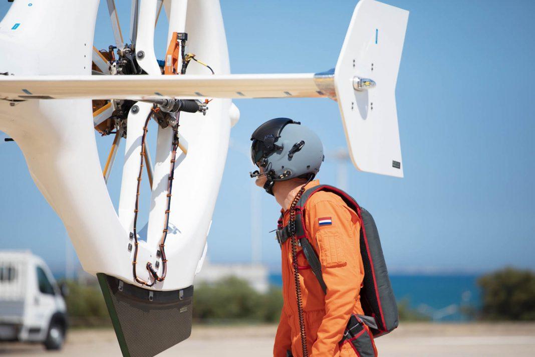 O SH09 tem o rotor de cauda envolvido por uma carenagem (Kopter)