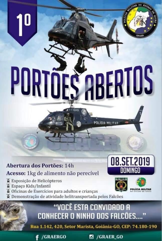 Evento do GRAer acontece no próximo dia 8 de setembro, em Goiânia | Foto: Divulgação