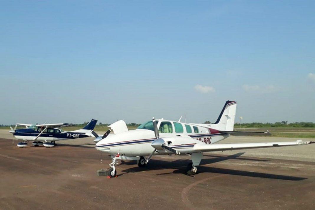 Com mais duas aquisições, o Graesp passa a contar com 11 aeronaves