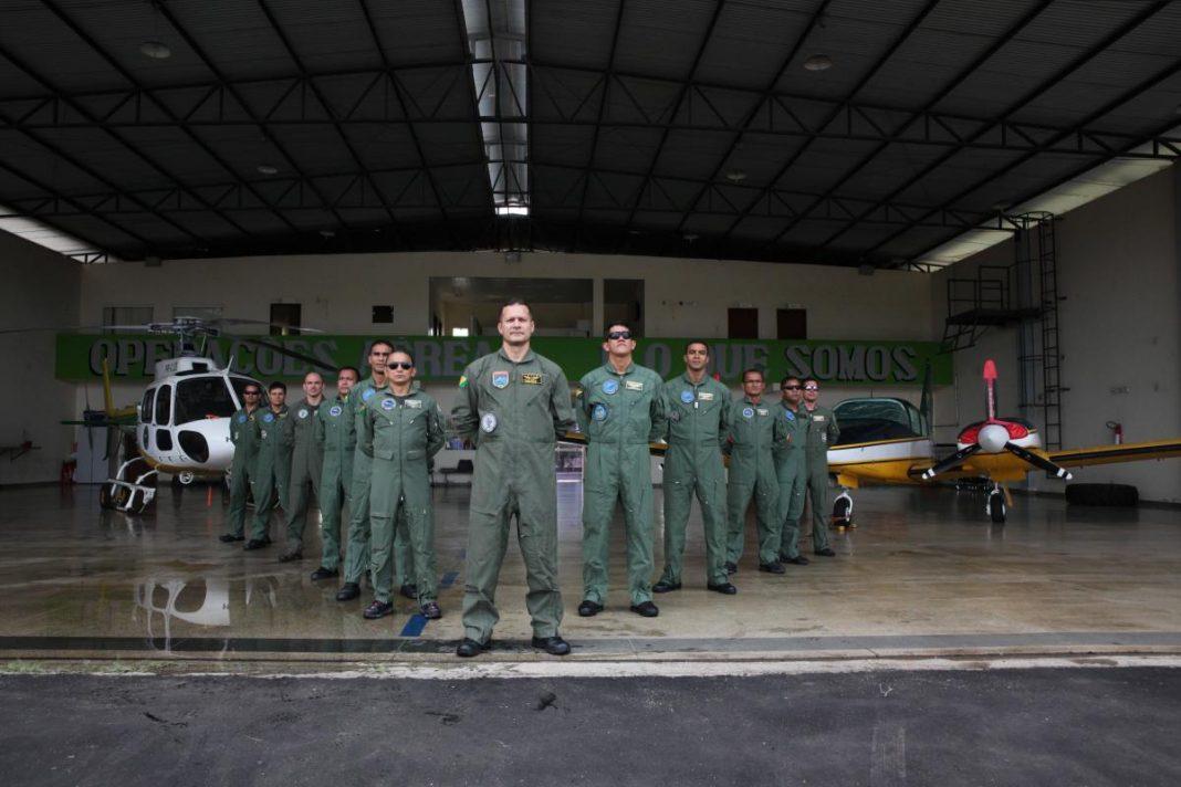 O comandante do Ciopaer destacou os avanços adquiridos nos últimos 10 anos da instituição Fotos: Odair Leal/Secom