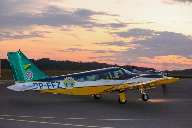 Aeronave é um marco do compromisso do novo Governo do Estado do Acre com as populações interioranas Foto: Marcos Vicentti