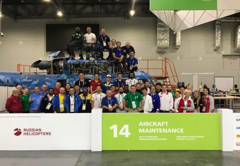 Competidores e Experts em Kazan