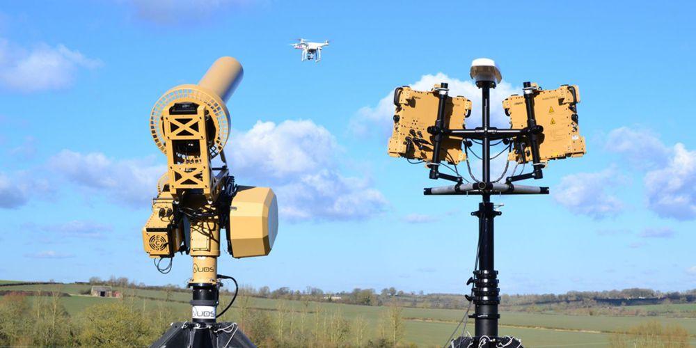 Sistema bloqueador de sinais anti-drones
