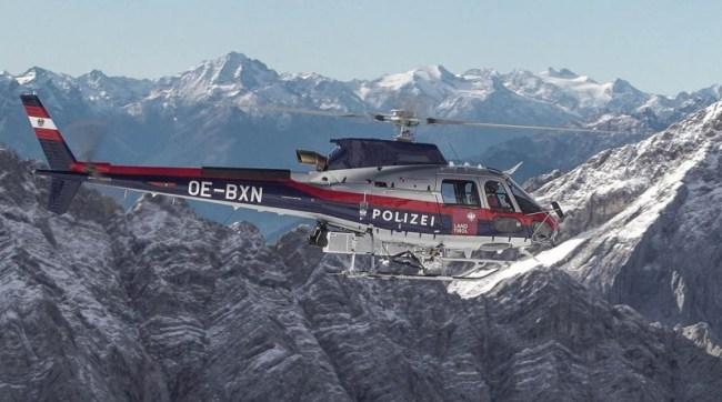 O primeiro H125 usado para operações policiais e de resgate pelo Ministério do Interior da Áustria. (Foto: Airbus Helicopters)