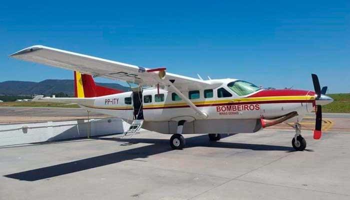 Avião Caravan Corpo de Bombeiros Militar Minas Gerais