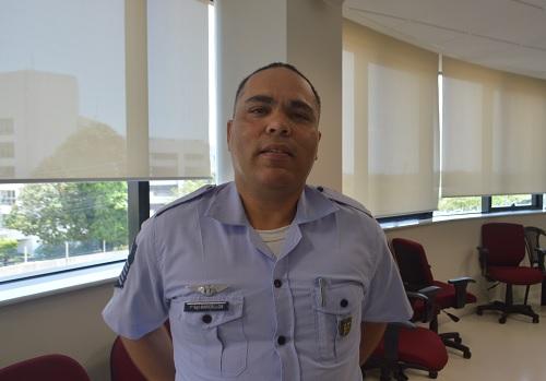 Sargento Barcellos, representante do Decea
