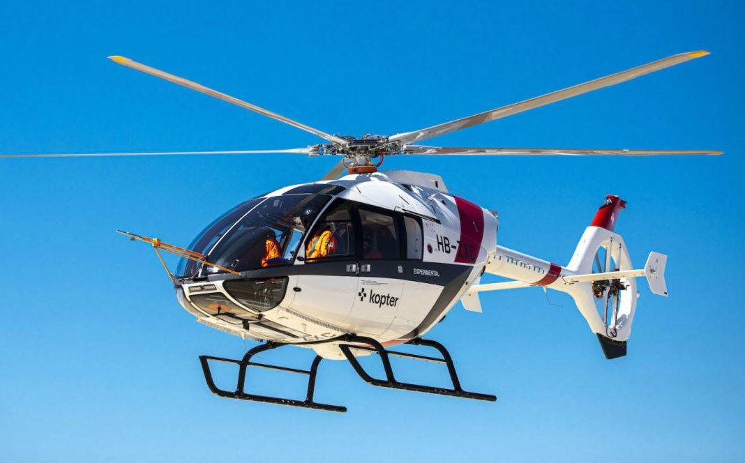 A Kopter vem construindo horas de voo com o terceiro protótipo de seu SH09 na Sicília, Itália. Fotos de Kopter