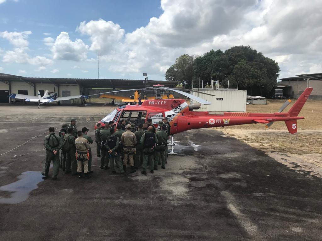 Fotos: Cortesia da Chefia Aérea Especial de Segurança Pública