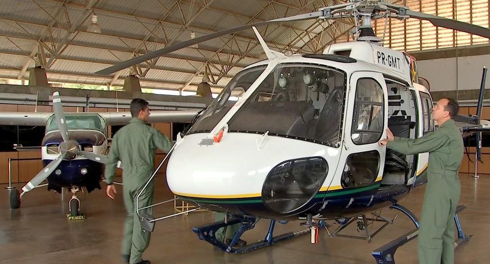Doadores concorreram a um passeio de helicóptero — Foto: TVCA/Reprodução