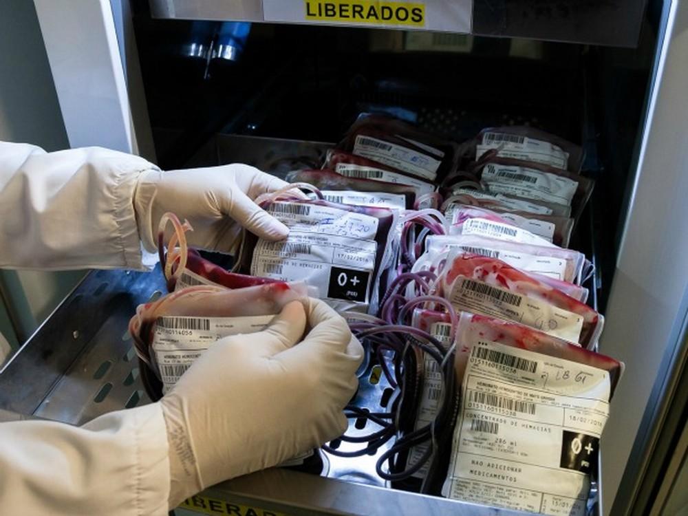 Período de fim de ano costuma ser crítico nos bancos de sangue — Foto: MT Hemocentro/SES