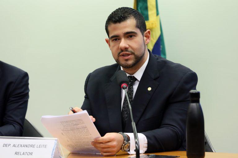 Deputado Alexandre Leite, relator do projeto na Comissão de Segurança