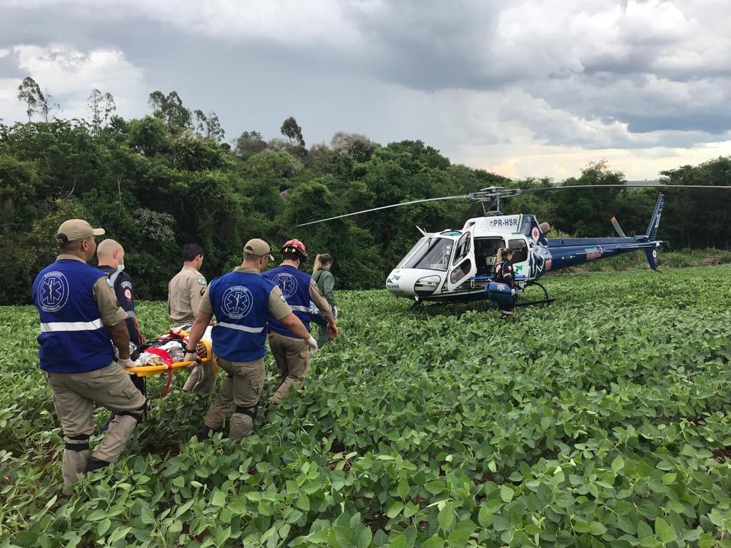 Helicóptero do SAMU fez mais de 500 Operações de resgate em 2019