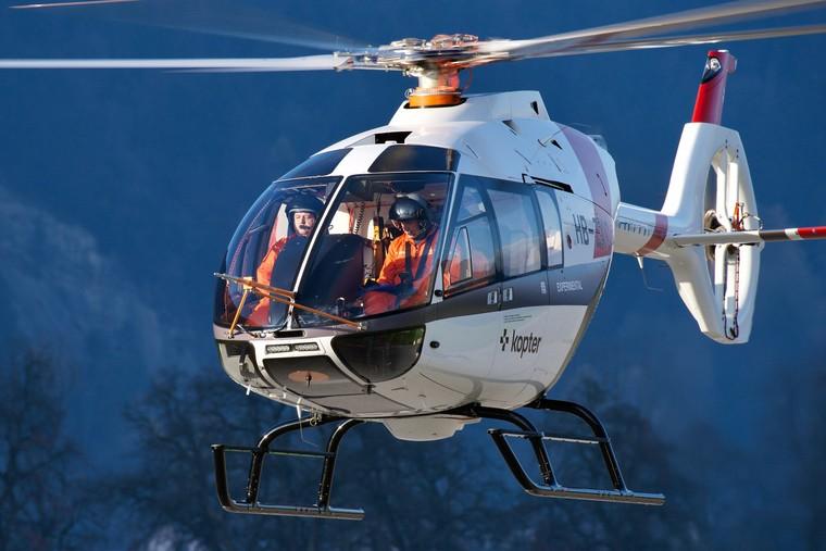 Helicóptero monoturbina suíço SH09 oferece espaço e desempenho de biturbina