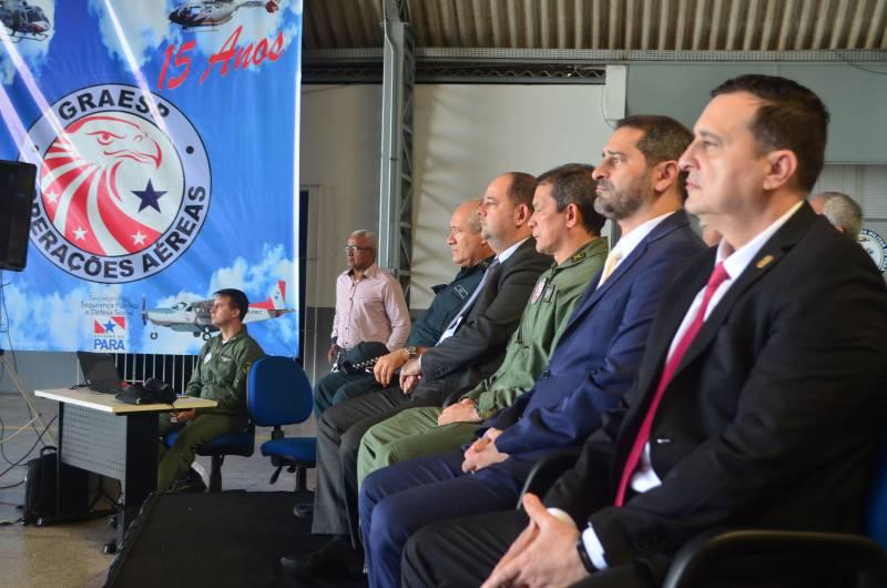 Autoridades da área de segurança pública participaram da comemoração pelos 15 anos do Graesp