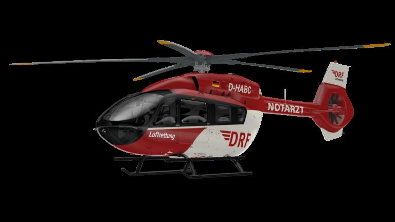 Isso elevará a frota H145 dos Serviços Médicos de Emergência em Helicópteros da Alemanha (HEMS) para 35 helicópteros, tornando-os o maior operador do H145 de cinco lâminas no mundo. Imagem de helicópteros da Airbus