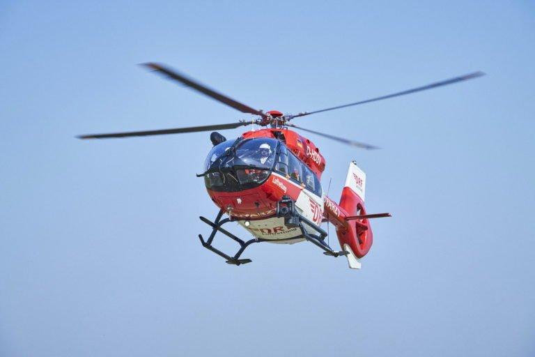 O Grupo DRF concluiu 40.738 missões de resgate aéreo em 2019. DRF Photo