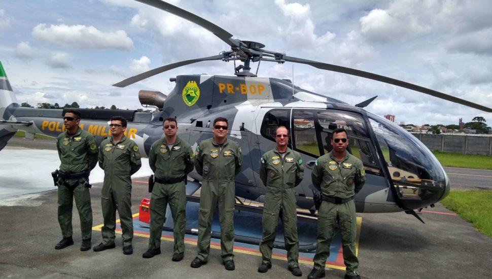 Equipe do BPMOA da Polícia Militar. Foto: Gerson Klaina / Tribuna do Paraná