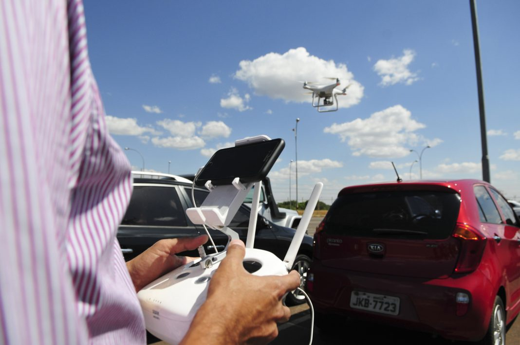 drone policia civil