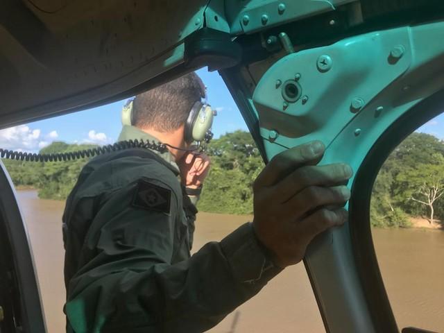 Vítimas de acidente com barco foram localizadas — Foto: Ciopaer-MT/ Divulgação