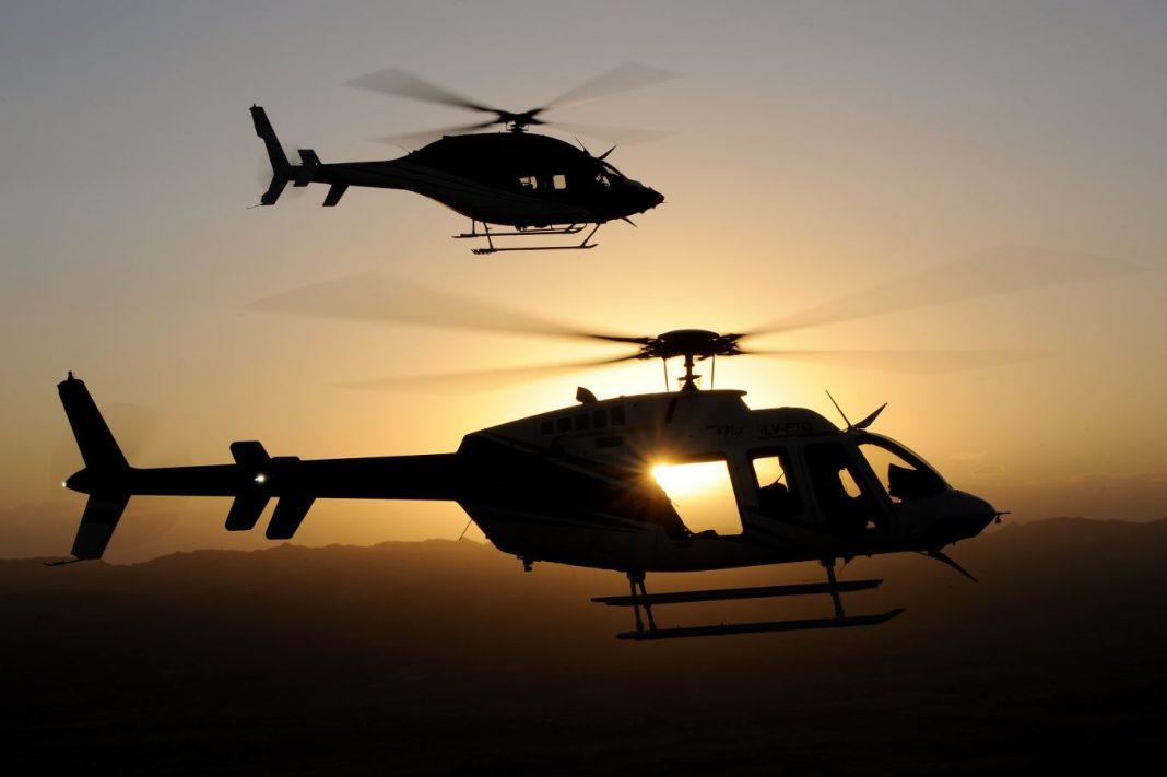 A Honeywell prevê 4.100 helicópteros civis entregues até 2024 - um aumento de 14% em relação às 3.500 aeronaves civis entregues entre 2014 e 2018. Anthony Pecchi Photo