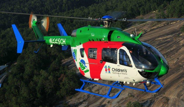 A Metro Aviation opera serviços de ambulância aérea em nome de clientes, como Children's Healthcare of Atlanta. A empresa está fornecendo orientação aos pilotos e compartilhando essa orientação com seus clientes. Metro Aviation Foto