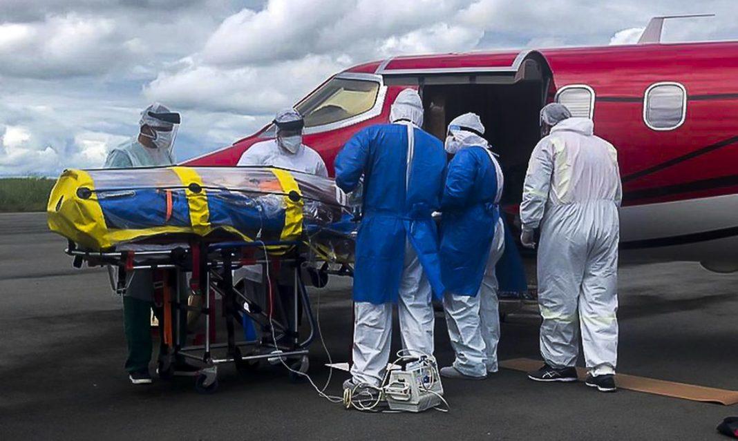 ANAC autoriza uso de cápsula de isolamento para o transporte de vítimas da Covid-19 foto:marcus coelho/anac
