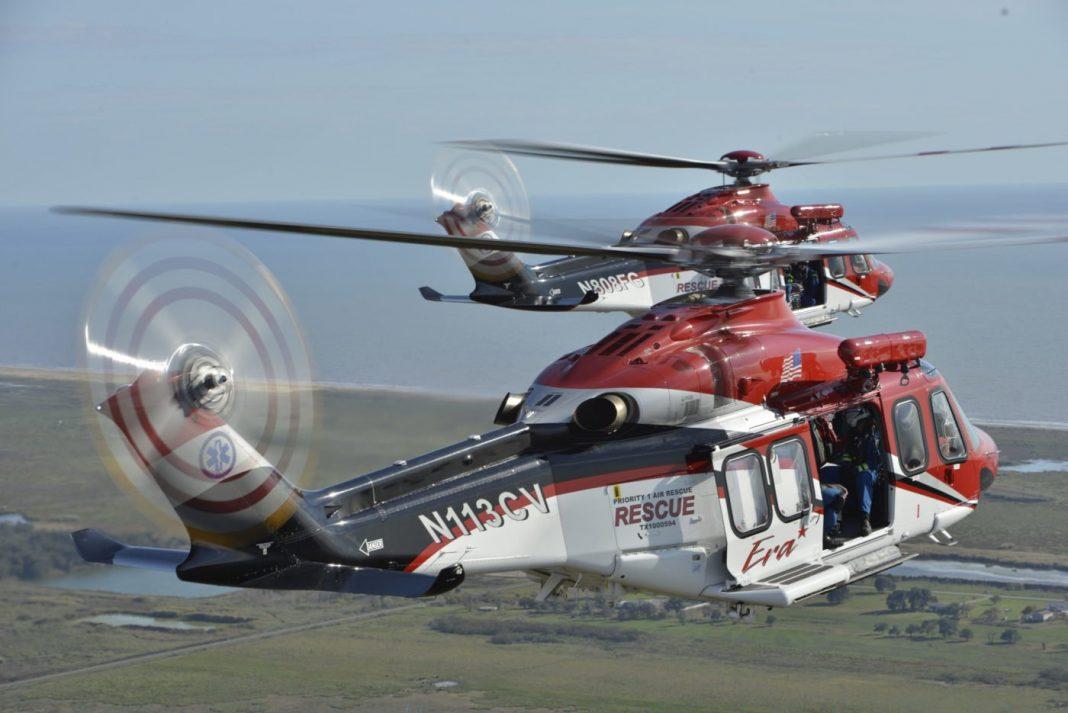 A Priorty 1 Air Rescue e a Era Helicopters produziram um programa de busca e salvamento em parceria, que utiliza os helicópteros AW139 da Era. Fotos de Dan Megna